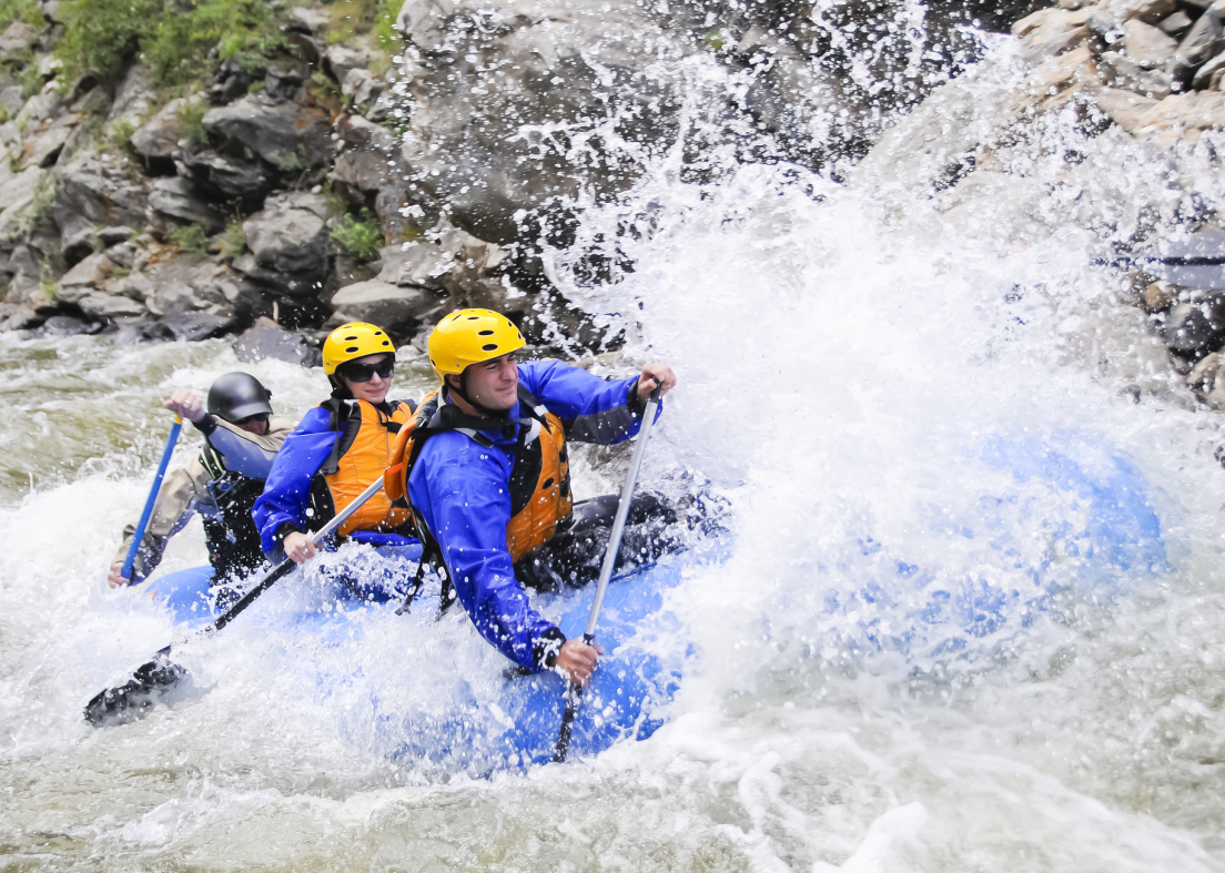 family white water rafting in Colorado